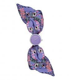 Furla Purple Wrap Watch