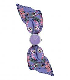 Furla Purple Wrap Watch