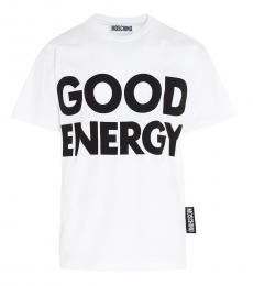 White Good Energy T-Shirt