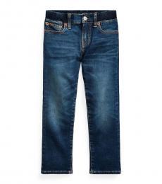 Ralph Lauren Little Boys Blue Sullivan Stretch Slim Jeans