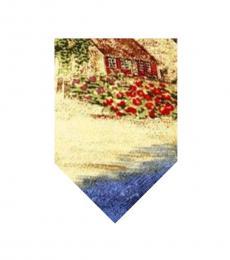 Multi Color Elegant Hut Print Tie