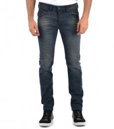 Diesel Dark Grey Stretch Denim Belther Jeans
