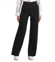 Black Wide-Leg Sailor Pant