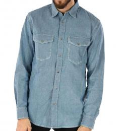 Diesel Blue Denim Rooke Shirt