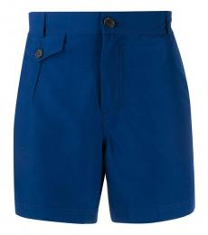 Brunello Cucinelli Royal Blue Tailored Shorts
