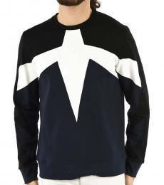 Black Slim Fit Modernist Sweatshirt