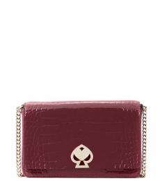 Kate Spade Cherrywood Romy Embossed Small Crossbody