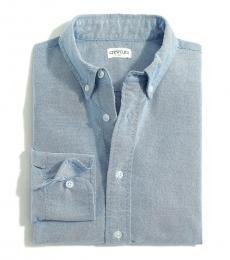 J.Crew Little Boys Deep Blue Oxford Shirt