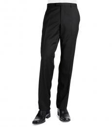 Hugo Boss Black Wool Pocket Trousers