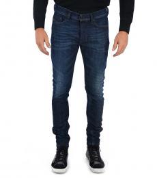 Diesel Dark Blue Stretch Denim Tepphar Jeans
