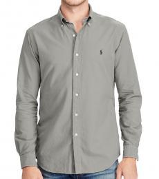 Grey Classic Fit Sport Shirt