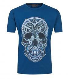 Turquoise Graphic Logo T-Shirt