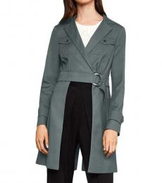 BCBGMaxazria Castor Grey Convertible Open Panel Jacket