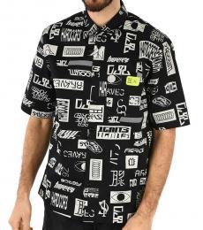 Diesel Black Fry Short Sleeve Shirt