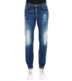 Dsquared2 Blue Skater Casual Fit Jeans