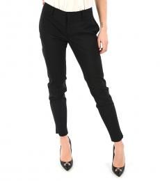 Dsquared2 Black Wool Denise Fit Pants