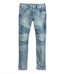 True Religion Muddled Highs Geno No Flap Jeans