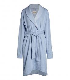 UGG Light Blue Duffield Fleece Robe