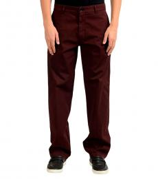 Cherry Stretch Casual Pants