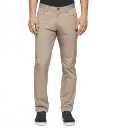 Classic Khaki Pocket Stretch Pants