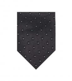 Christian Dior Grey Skinny Modish Tie