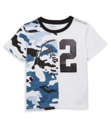 True Religion Little Boys White Printed T-Shirt