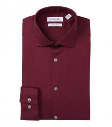 Geranium Slim Fit Stretch Dress Shirt