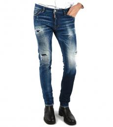 Dsquared2 Blue Cool Guy Distressed Jeans