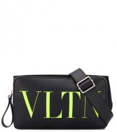 Valentino Garavani Black VLTN Fanny Pack