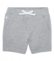Ralph Lauren Baby Boys Andover Heather Mesh Shorts