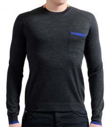 Dark Grey Crewneck Pullover
