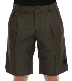 Dolce & Gabbana Grey Crown Shorts