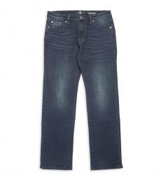 7 For All Mankind Boys Dark Currant Standard Jeans