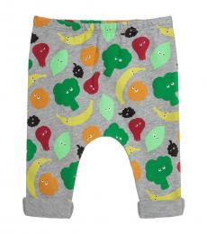 Stella McCartney Baby Boys Grey Fruit Joggers