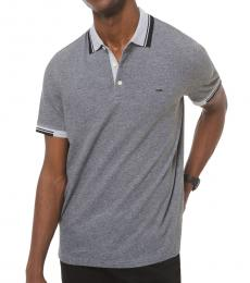 Heather Grey Greenwich Stretch Polo