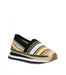 Multicolor Striped Sneakers