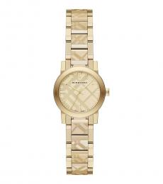 Gold Ion-plated Watch