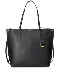 Ralph Lauren Black Abby Large Tote