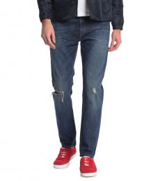 Diesel Dark Blue Thommer Slim Fit Jeans