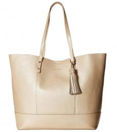Cole Haan Soft Gold Bayleen Large Tote