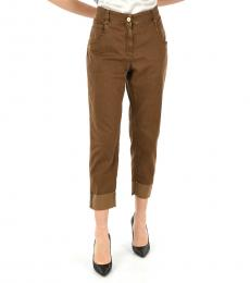 Brunello Cucinelli Brown Straight Fit Jeans