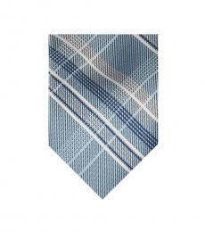 Michael Kors Light Blue Vast Plaid Tie