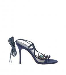 Blue Jewel Heels