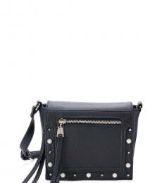 Juicy Couture Black Pearly Girl Small Crossbody