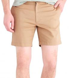 J.Crew Light Brown Reade Flex Khaki Shorts