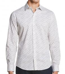 Light Grey Stretch Placket Plaid Shirt
