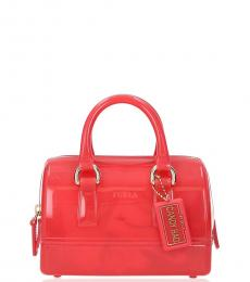 Furla Red Candy Mini Satchel