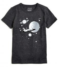 J.Crew Boys Grey Space T-Shirt