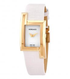 Versace White Greca Icon Watch