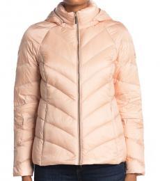 Michael Kors New Blush Short Packable Puffer Jacket
